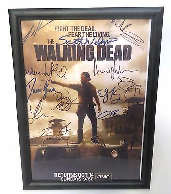 The Walking Dead - Framed Signed Reprint Picture from the Cast