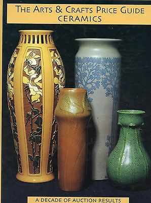 Arts & Crafts Pottery Types Makers Marks Values / Illustrated Book (2,068 Items)