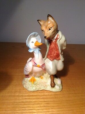 Royal Albert Jemima Puddleduck with Foxy Whiskered Gentleman