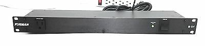 Furman M-8X2 Rack Mountable 9 Outlet Power Conditioner and Surge Protector