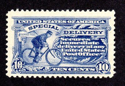 US Scott E 11 B  Mint Non-Hinged Grey Violet F/VF  from 1917