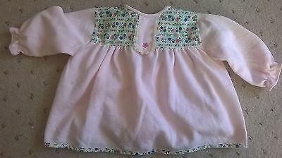 70s vintage baby girl top