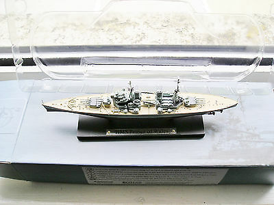 Hms Prince Of Wales Battle Ship Atlas Edition Collection 1:1250 Bnib Free Postag