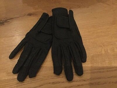 Ariat Pro Contact riding gloves childs black