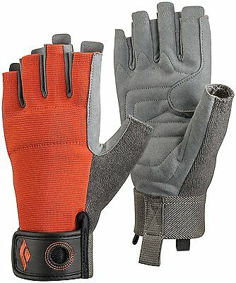 Black Diamond Crag Half-Finger Gloves, Octane, Small