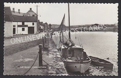 Carmarthenshire The Quay Carmarthen Real Photo