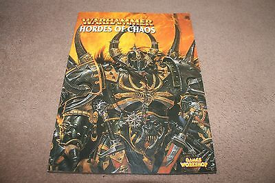 Games Workshop Warhammer Hordes Of Chaos Rule Book Mint