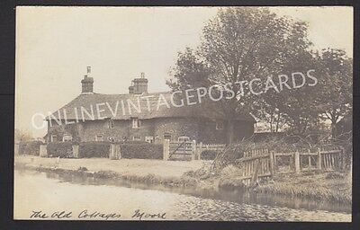 Cheshire The Old Cottages Moore Near Warrington Super Real Photo