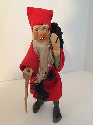 Primitive Hand Carved Santa