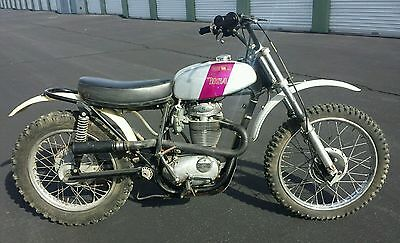 1972 BSA Victor 500MX  1972 BSA VICTOR 500 MX - Original as Found From Original Owner