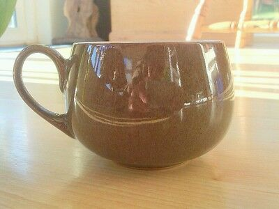Brown Denby Stoneware Cup