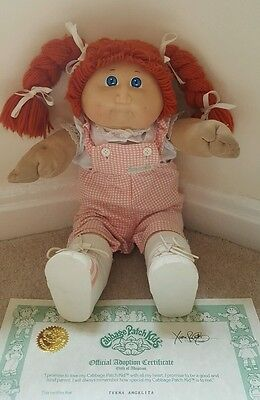 vintage original cabbage patch kid