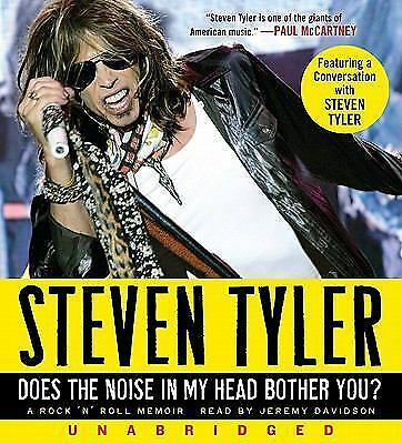Does the Noise in My Head Bother You? CD: A Rock 'n' Roll Memoir - New - Tyler,