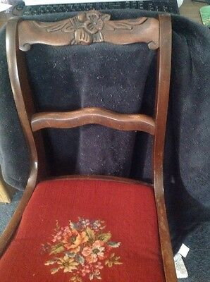 DARLING VINTAGE SMALL (childs?)Rocking Chair