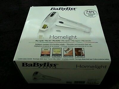 BaByliss Paris Homelight laser hair removal
