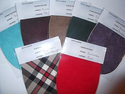 7 New Colours For These Lovely Faux Suede Elbow Patches/trimmings-Latest Fashion