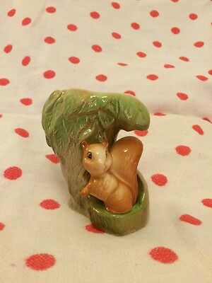 Eastgate Pottery No 26 Squirrel Fauna Posy Vase.