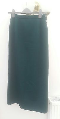 Dark forest green long vintage skirt from Country Casuals 8 10