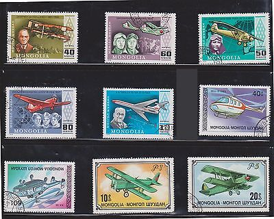 (U3-9) 1970's Mongolia mix of 31stamps 5m to 1.20 (D)