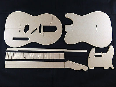 Guitar Template set Telecaster cnc made templates .