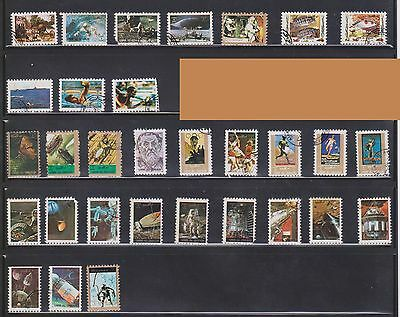 (U3-22) 1970 QIWAN mix of 31 stamps (C)