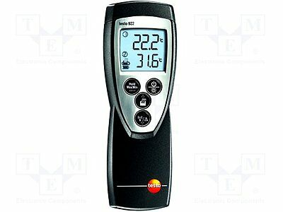 1 pc Temperature meter; with a backlit; -50÷1000°C; Channels:2