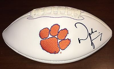 Dabo Swinney Clemson Tigers Signed Autographed Logo Football Autograph + Proof!