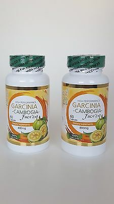 Pure Garcinia 2 Cambogia Extract 100%  Mega Extreme Pure HCA Weight Loss