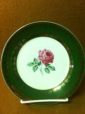 Bread & Butter Plate American Beauty Rose By Limoges American TS530