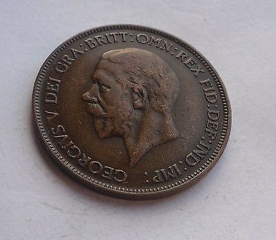 1932 Penny, George V. Lovely Condition.