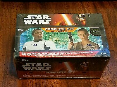 2016 Topps Star Wars The Force Awakens Complete Card Set 310 Cards