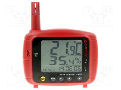 1 pc Logger: temperature and humidity; LCD; -20÷70°C; 0÷100%RH