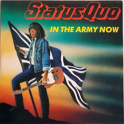 """Status Quo 'In The Army Now (Military Mix)' 12"""" Vinyl Single"""