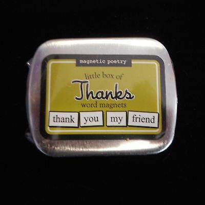 Magnetic Poetry Little Box of THANKS Word Magnets