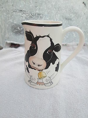 Arthur Wood  Back to Front Cow Milk Jug 14 cms in height