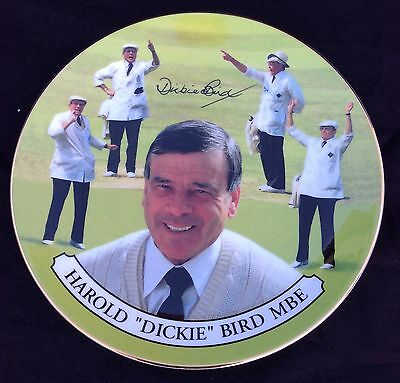 Dickie Bird Royal Doulton Limited Edition Plate