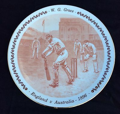 W G Grace Royal Doulton Limited Edition Plate