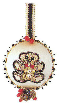 The Cracker Box Golden Oldie Christmas Ornament  Teddy