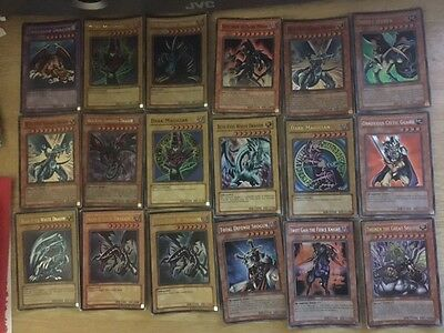 Yugioh Card Bundle / 20 cards RARE LIMITED FIRST EDITIONS/ MOSTLY HOLO