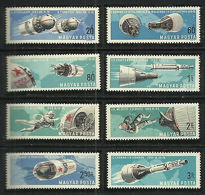 Hungary 1966 - Space Conquests set MNH