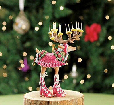 Patience Brewster Christmas Mini Donna Reindeer Ornament 08-30655D MFR DEFECT