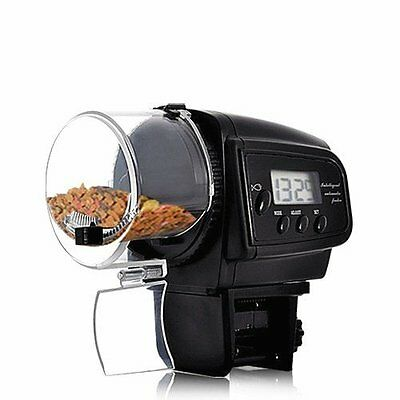 UKONLINE®Automatic Fish Feeder with LCD Display