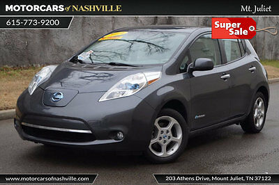 2013 Nissan Leaf 4dr Hatchback SL 2013 NISSAN LEAF SL! 27K MILES! FACTORY WARRANTY! NAVIGATION! HEATED SEATS!