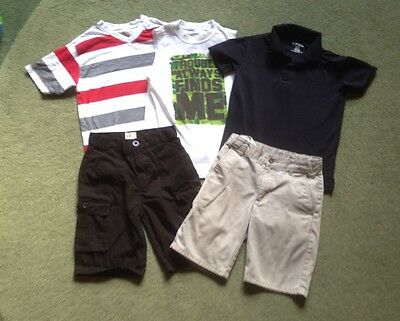 LOT OF 35 Boys Youth Size 8 Clothes Jeans Shorts T Shirts Polos Tank Tops Pajama