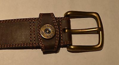 Mossy Oak Brown Leather  Belt  Size L 38-40
