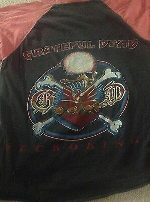 Grateful Dead Shirt 1980s Reckoning Vintage Live in Concert Rare