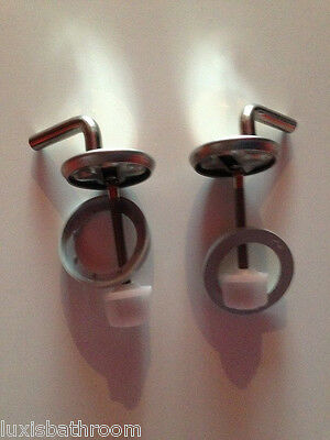 Brand New Toilet Seat Stainless Steel Hinges-HS0302
