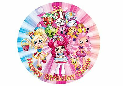 Shopkins Edible Printed Cake Topper 20cm Rice / Wafer Paper  #9