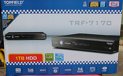 Topfield TRF7170 PVR - 1TB HDD X4QUAD Recorder Manufacturer refurbished