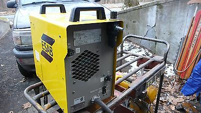 ESAB WELDING 70A ARC PLASMA CUTTER PCM-1125 PCM1125-wired for Single Phase